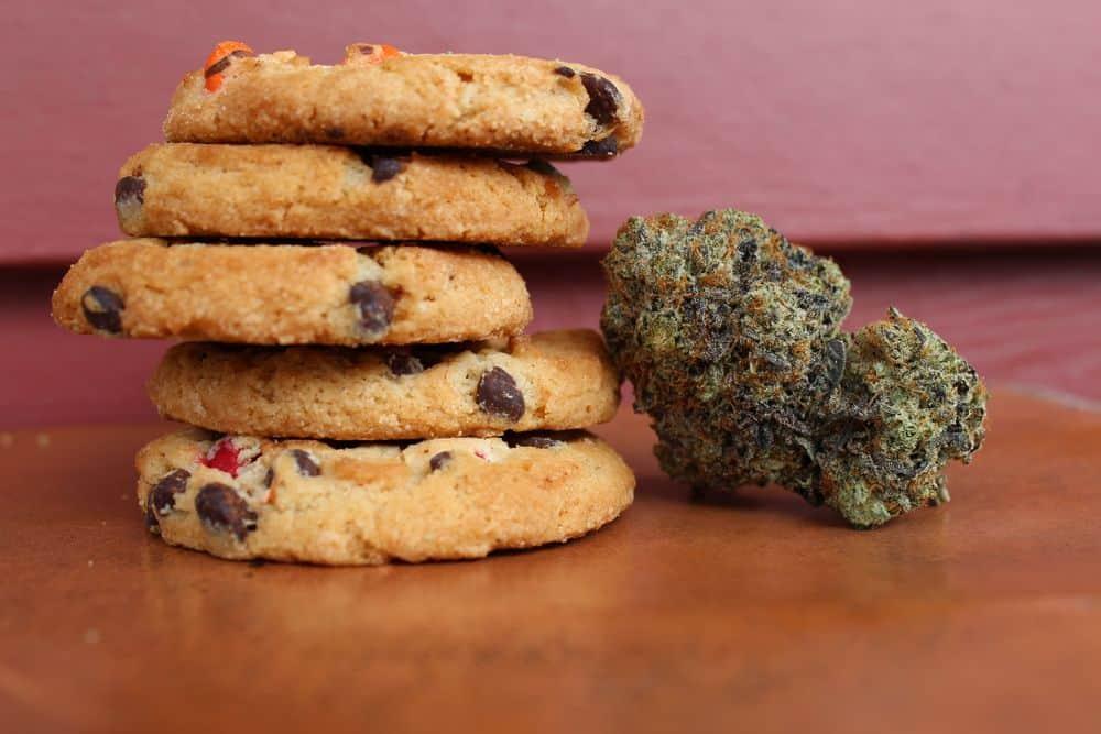 עוגיות, קנאביס