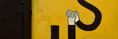 יד ביד, ציור קיר