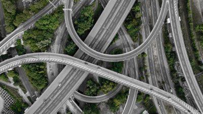 כבישים מהירים, מחלף, כביש מהיר