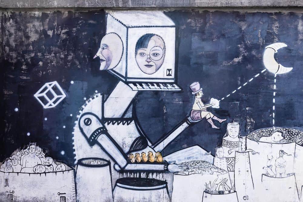 ציור קיר, פולין, קטוביץ'