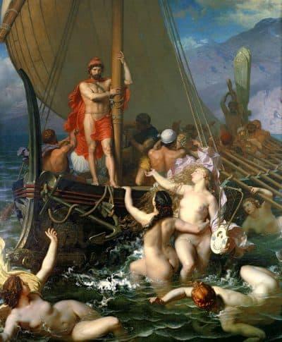 אודיסאוס והסירנות, לאון בלי