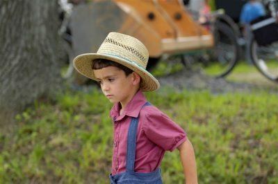 אמיש, ילד, עבודה, חווה