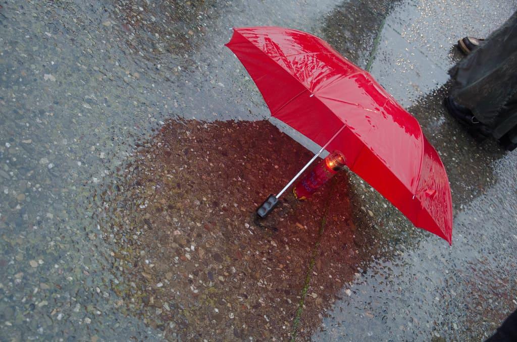 מטרייה אדומה, עובדי מין, אלימות