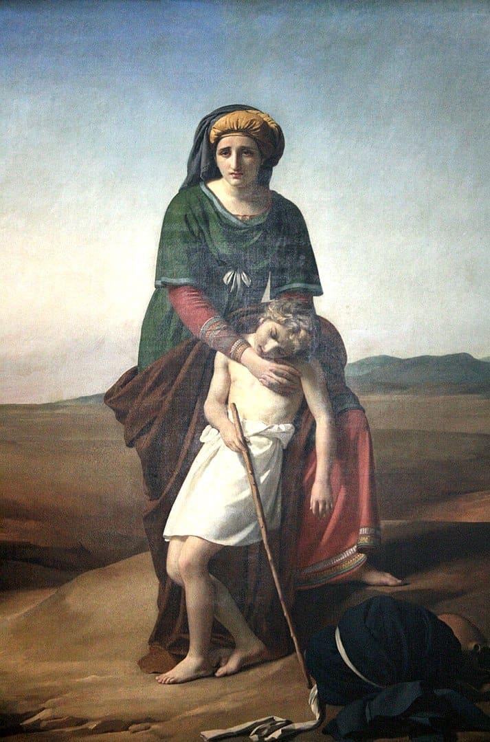 הגר וישמעאל, פרנסואה-ז'וזף נאווז