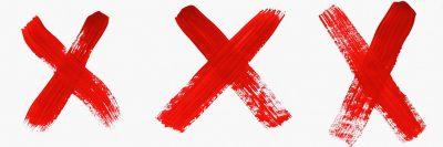 דם, איקסים, אדום, צבע אדום