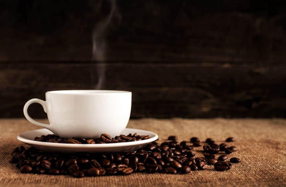 קפה, ספל, פולי קפה