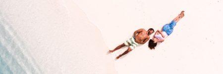 זוג, חוף ים, מלדיביים