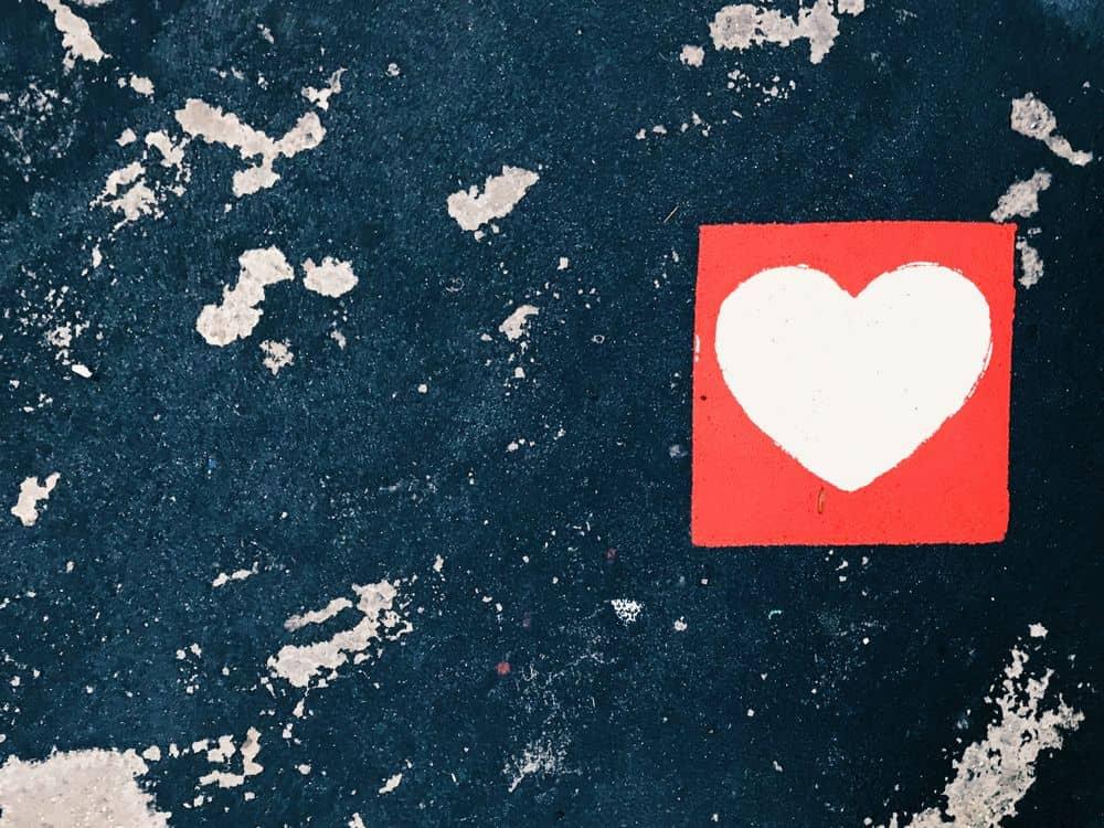 לב, רחוב, אספלט