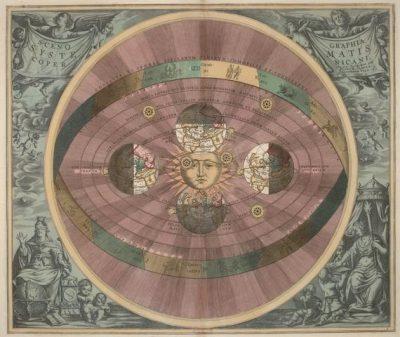 הליוצנטריות, מודל הלוצנטרי, אנדראס קלאריוס