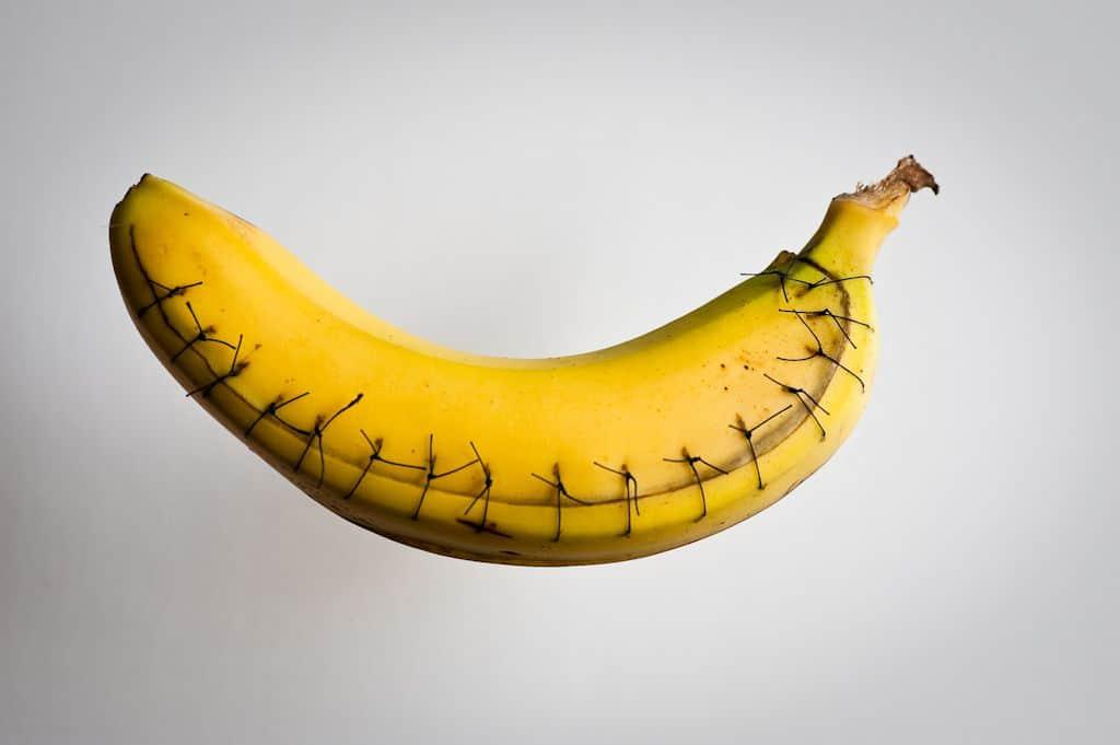 בננה, תפרים