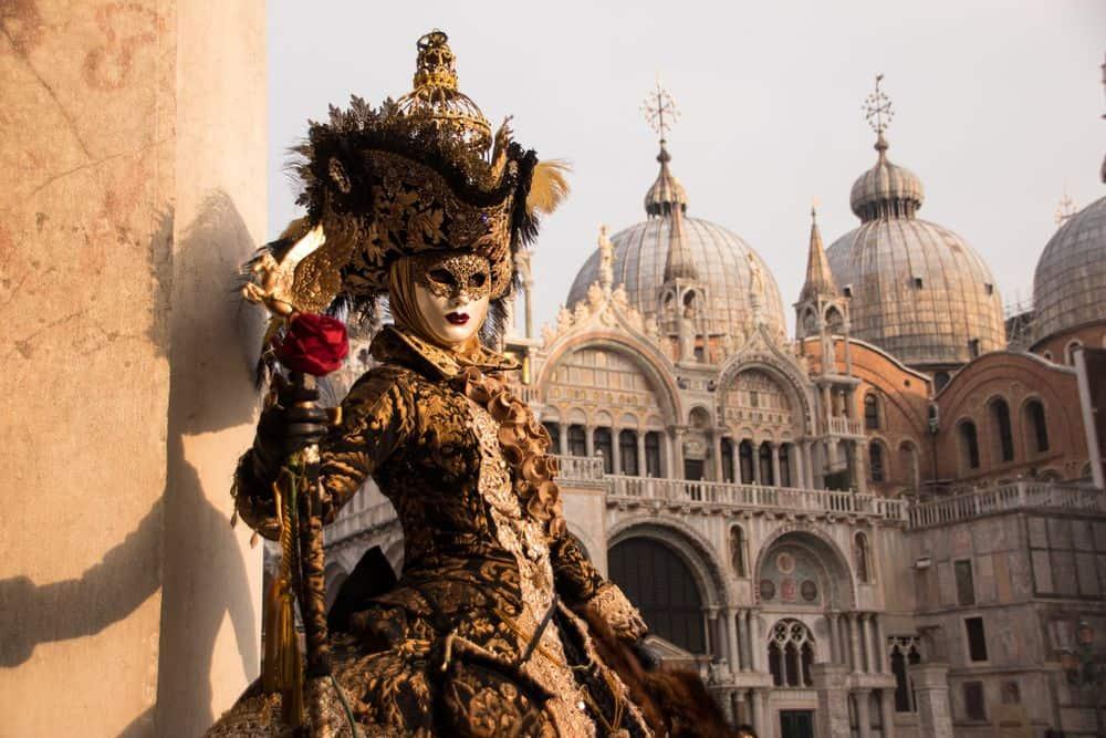 ונציה, קרנבל, מסיכה
