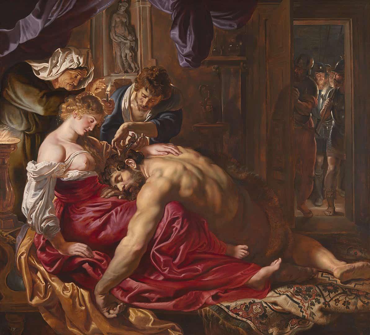 שמשון ודלילה, רובנס
