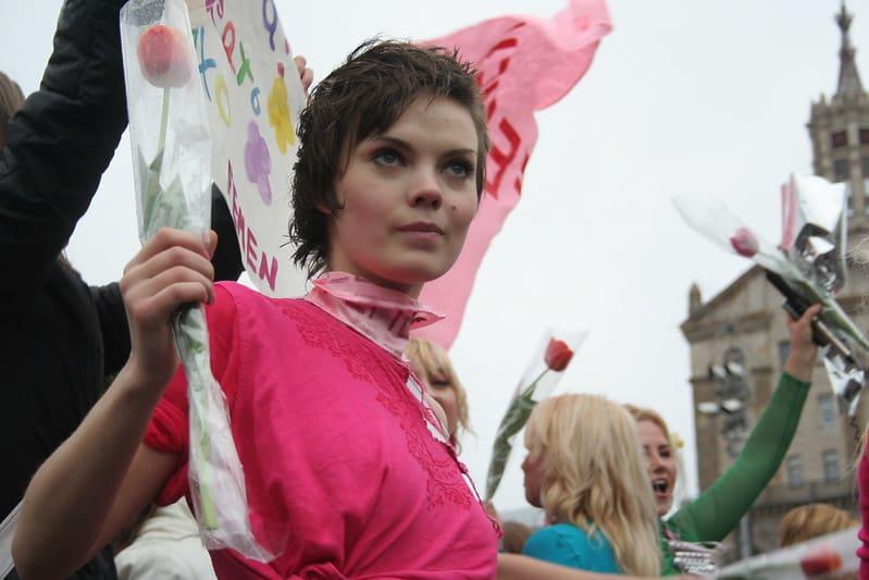 מחאה, פמיניסטיות, אוקראינה, גוף האישה