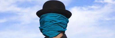 כובע שחור, חבל, כחול, פרצוף, פנים