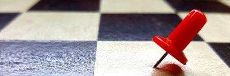 סיכה, לוח שחמט
