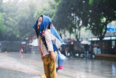 ילד סיני, גשם, מדיניות הילד היחיד