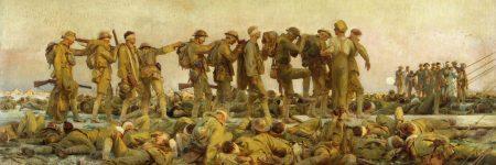 נפגעי גז, מלחמת העולם הראשונה, ג׳ון סינגר סרג׳נט