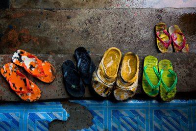 ליבריה, אפריקה, כפכפים, משפחה