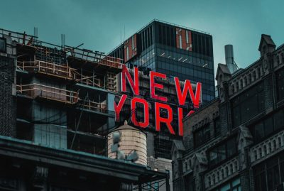 ניו יורק, שלט, בניין, בנייה, פיגומים