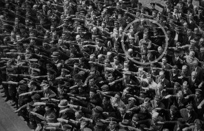 אאוגוסט לנדמסר, היטלר, סרבנות, מועל יד
