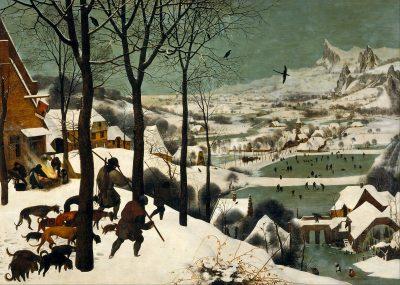 ציידים בשלג, פיטר ברויגל האב