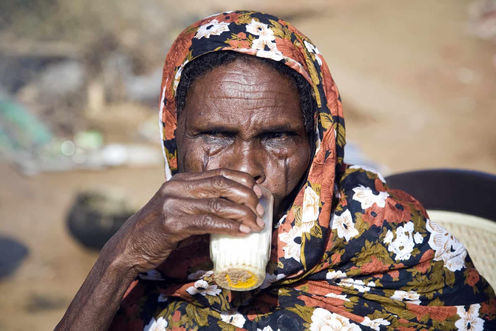 חג׳, אישה, סודן