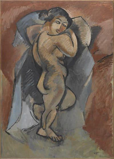 ז׳ורז בראק, אישה רוחצת, עירום