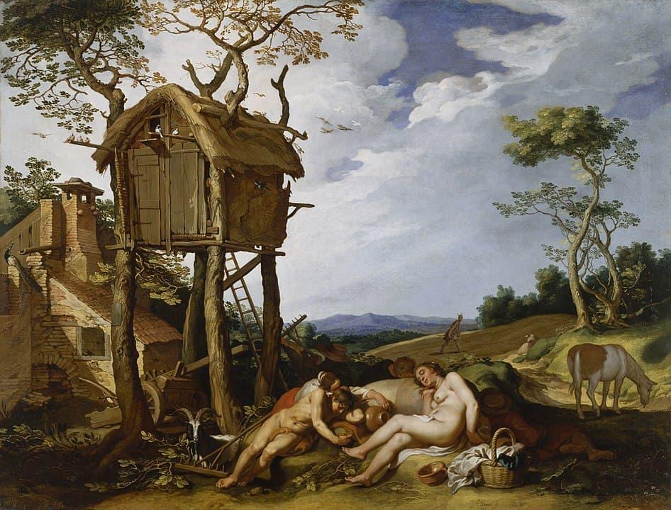 משל החיטה והעשבים השוטים, אברהם בלומרט