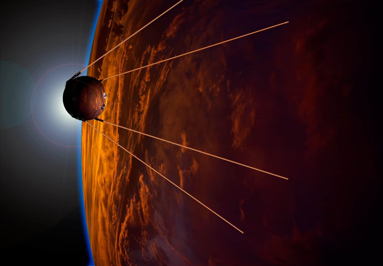 ספוטניק, תחרות, לוויין, עידן החלל