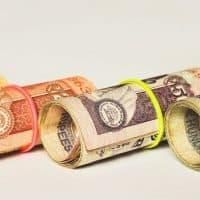 רופיות, שטרות, כסף