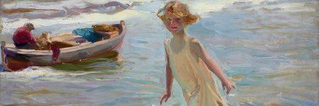 חואקין סורויה, ילדה על החוף