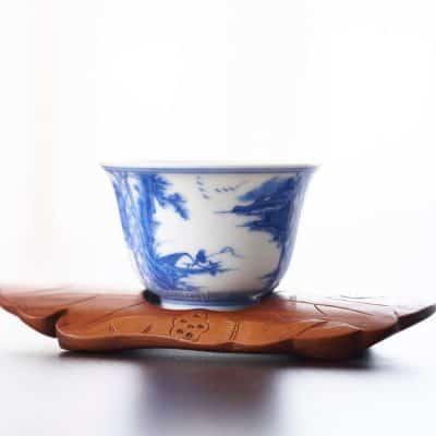 ספל תה, יפן, חרסינה