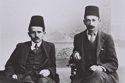 דוד בן גוריון, יצחק בן צבי, עות'מנים