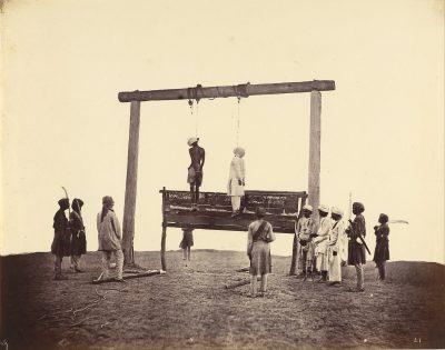 מרד, הודו, הוצאה להורג