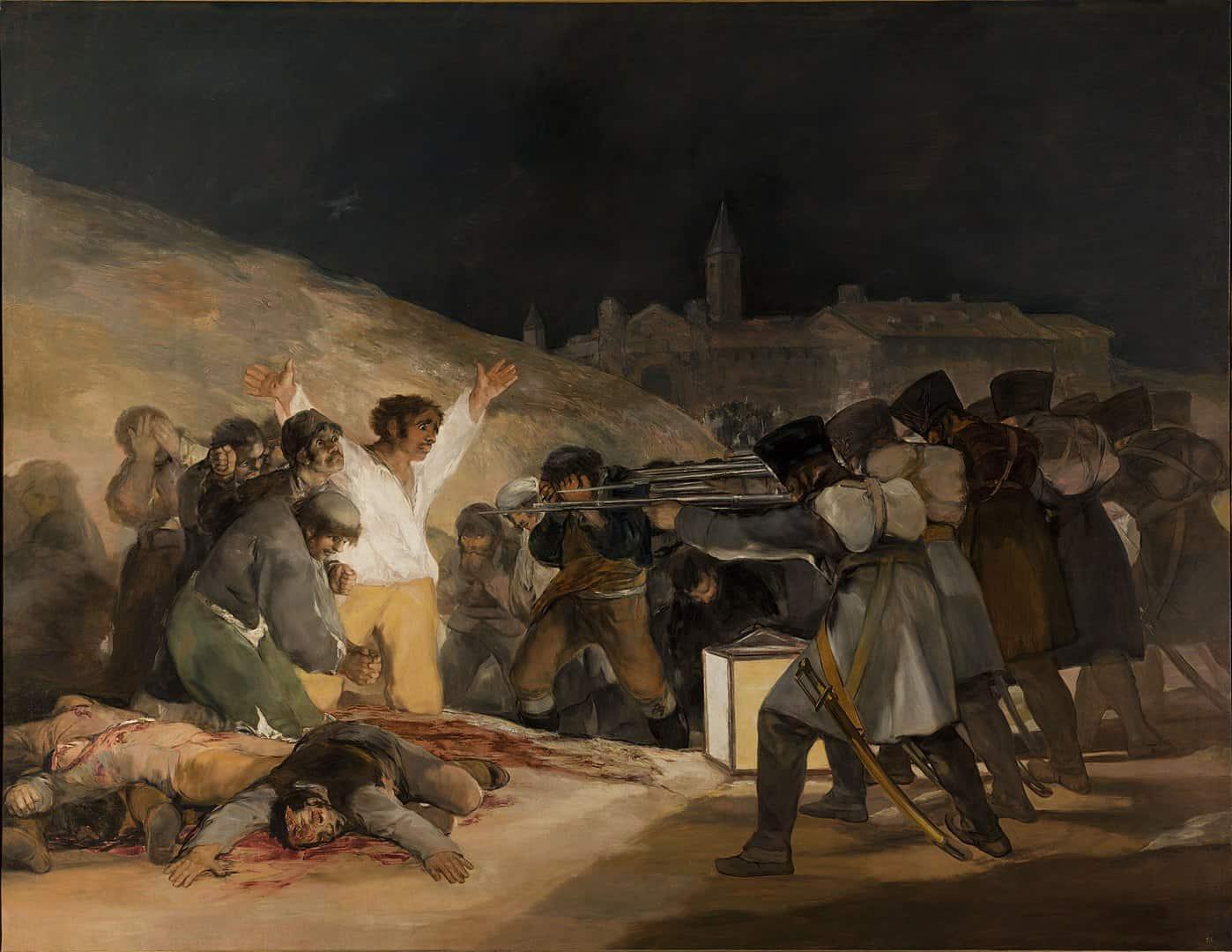 שלושה במאי 1808, פרנסיסקו גויא