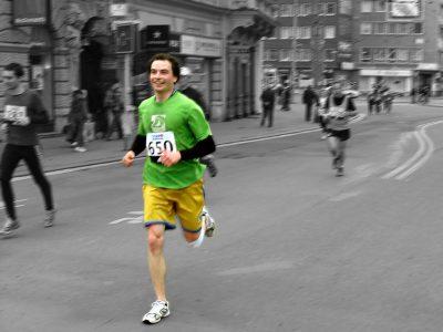 חצי מרתון, ריצה, פיניש