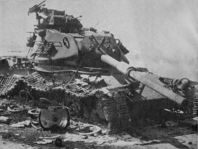 טנק, פאטון, M-60, מלחמת יום הכיפורים