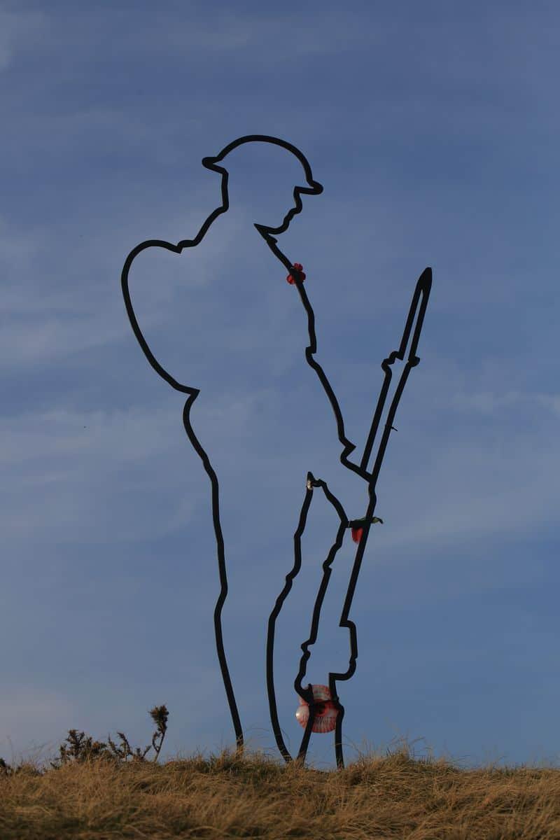 חייל, אנדרטה, מלחמת העולם הראשונה, ריקנות