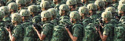 חיילים, קרביים, מסדר