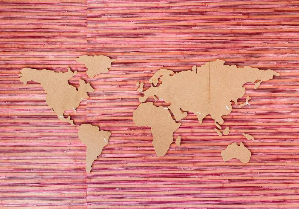 מפה, עולם, כדור הארץ