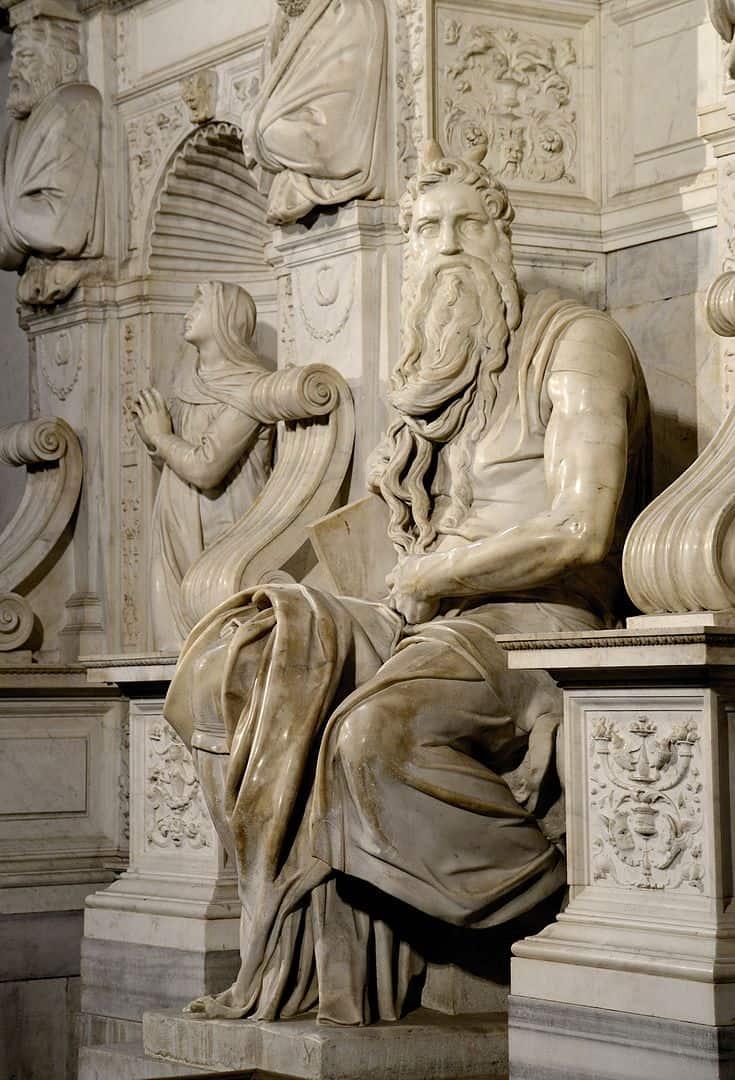 משה, מיכאלאנג'לו