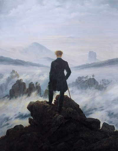 המשוטט מעל ערפל הים, קספר דוד פרידריך