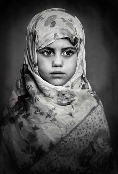 ילדה, מוסלמית, חיג'אב