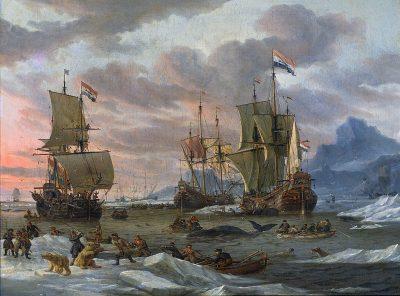 ציידי לווייתנים, הולנד, אברהם סטורק