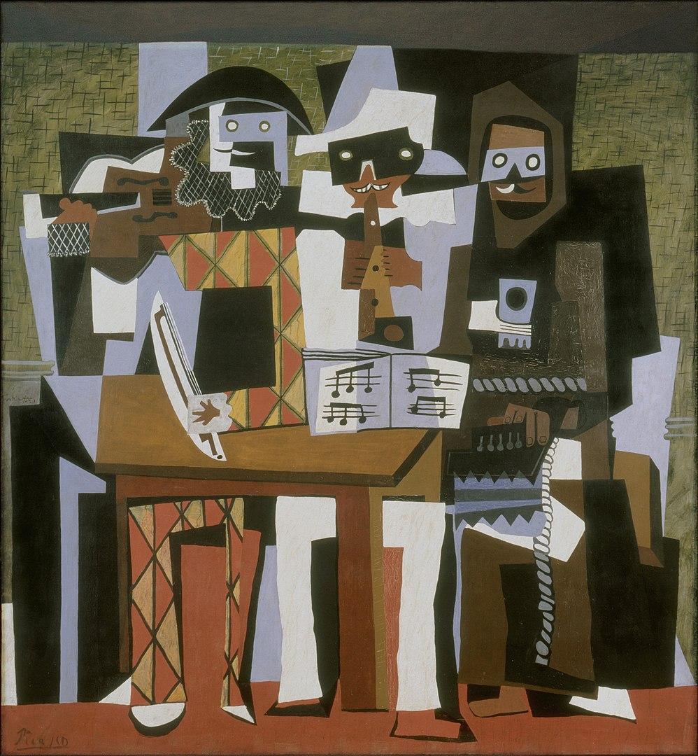 שלושה מוזיקאים, פבלו פיקאסו