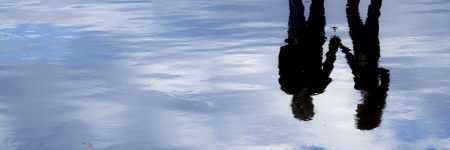 זוג, השתקפות, אגם