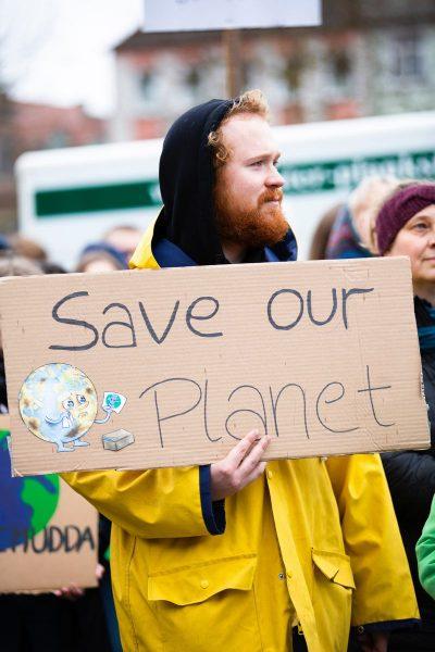 מפגין, איכות הסביבה, כדור הארץ