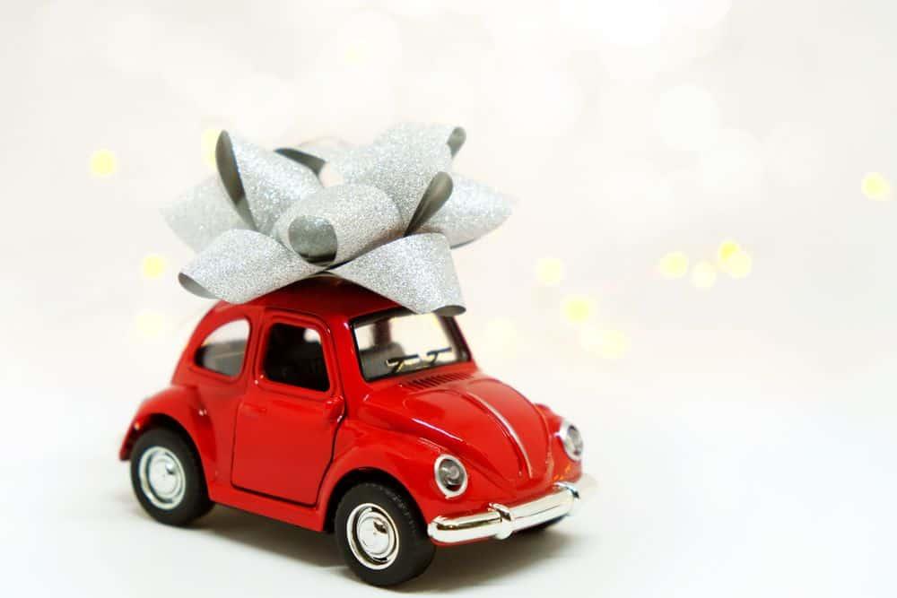 מכונית, מתנה, חיפושית אדומה