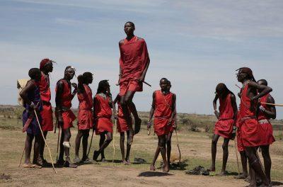 מסאי, קניה, ריקוד