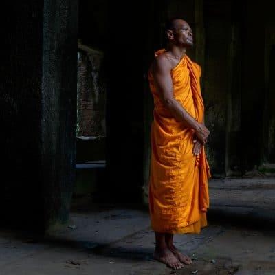 נזיר, קמבודיה, אנגקור וואט